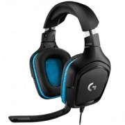 Геймърски слушалки Logitech G432 7.1 Surround Sound Gaming Headset, 981-000770