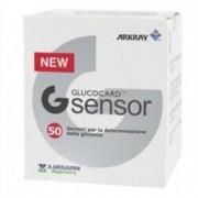 Menarini Diagnostics G sensor glucocard - 50 strisce reattive per glicemia