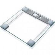 Цифров кантар Beurer GS 11 Glass bathroom scale, капацитет 150 кг, LCD дисплей, с включена батерия,