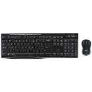 Logitech MK270 Kablosuz Wireless Q TR Klavye Optik Mouse Set Siya