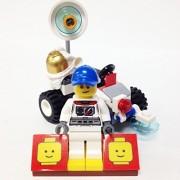 "Minifigure Packs: Lego City Space Port Bundle ""(1) Astronaut"" ""(1) Figure Display Base"" ""(2) Figure Accessorys (Mars Rover Buggy & Space Suit)"""
