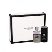 Gucci Guilty Pour Homme confezione regalo Eau de Toilette 50 ml + deodorante in stick 75 ml uomo