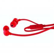 JBL T110 in-ear headphones - слушалки с микрофон за мобилни устройства (червен)