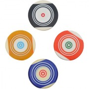 GSI Standard size Carrom Striker with Smooth surface and excellent re-bounce Pack of 4