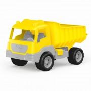 Camion Dolu, nu prezinta pericol de zgarieturi, 38 cm, Galben