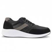 Green Comfort Dolphin Sneakers Men Black