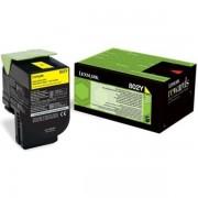Lexmark 80C20Y0 - 802Y toner amarillo