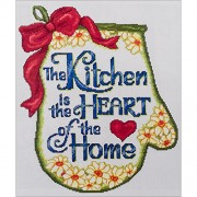 "Heart Of The Home Counted Cross Stitch Kit-11""X13"" 14 Count (Pack of 1 )"