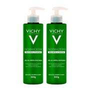 Gel de Limpeza Profunda Vichy Normaderm Pele Mista e Oleosa 300g - 2 Unidades
