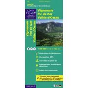 Fietskaart - Wandelkaart 18 Top75 Vignemale - Pic De Ger - Vallee D'Ossau   IGN