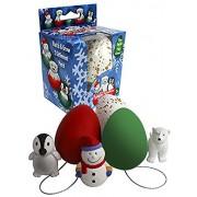 Christmas Ornament Grow Eggs - Hang Em and Hatch Em X-mas Hatching Grow Eggs (1pc) - Hatch Huge 1 of