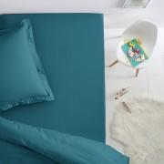 La Redoute Interieurs Lençol-capa em algodão, cama de criança, SCENARIOazul petróleo- 90 x 140 cm