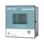 PQ Plus UMD 807E UMD 807E universeel meetapparaat - inbouw in schakelpaneel - Ethernet - RS485 - Modbus Master, 512 MB geheugen