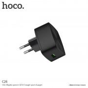 HOCO Rychlý nabíjecí AC adaptér pro iPhone a iPad - Hoco, C26 QUALCOMM QUICK CHARGE 3.0