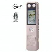 VM30 Professionele 8GB LCD digitale VoiceRecorder met VOR MP3-speler (licht Gold)(Gold)