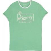 Fender Beer Label Ringer SFG/WT L T-Shirt