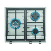 TEKA Placa de Gas TEKA EX/60.1 3G AI AL DR CI (Caja Abierta - Gas Natural - 50 cm - Inox)