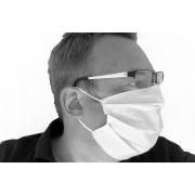 wischmopshop by Axis24 GmbH Mund- und Nasenmaske Gesichtsmaske 1 lagig 100 % Baumwolle...