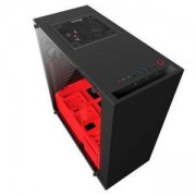 Кутия NZXT S340 Elite Black/Red Mid Tower, NZXT-CASE-S340W-B4