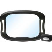 FreeOn Achterbank spiegel voor Baby & Kind - autospiegel met LED verlichting
