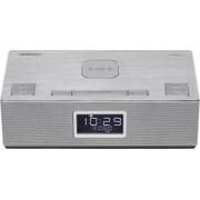 Sistem audio 2.0 Horizon HAV-P4200 10W Wireless Radio Clock AUX USB Argintiu