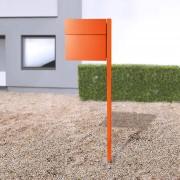 Absolut/ Radius Letterman IV stojanová poštovní schránka oranžová