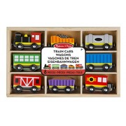 Melissa & Doug Train Cars Wagons De Tren Railway Wagon 8 Pieces