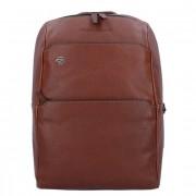 Piquadro Black Square Business Sac à dos cuir 34 cm compartiment Laptop