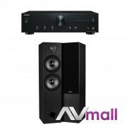 Pachet Amplificator Integrat Onkyo A-9010 + Boxe Dayton Audio T652 Dual desigilat