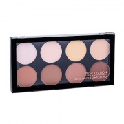 Makeup Revolution London Iconic Lights & Contour Pro paletta illuminante e modellante 13 g donna