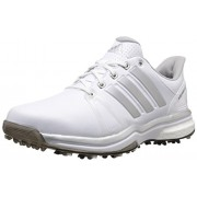 adidas Men s Adipower Boost 2 WD Golf Cleated FTWR White/Silver Metallic/Core Black 8.5 2E US