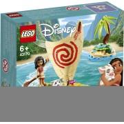 Lego Disney Princess (43170). Avventura sull'oceano di Vaiana