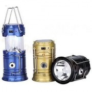 LED Solar Rechargeable 6-9 W Torch Light/ Emergency Lamp (Colors will vary as per Availability)