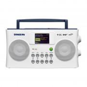 Sangean SIR-300 internetrádió / DAB+ / FM / USB / Media player (fehér)