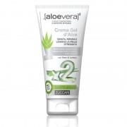 Zuccari Aloevera2 Crema Gel d'Aloe, tubo da 150 ml - 96% di pura Aloe vera