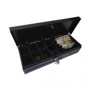 Сейф за пари / касово чекмедже CD460BK, метален, черен