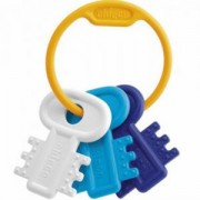 Дрънкалка ключодържател - синя, Chicco, 072147