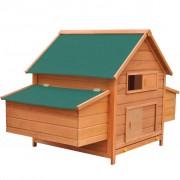 vidaXL 170410 Chicken Coop Wood 157x97x110 cm