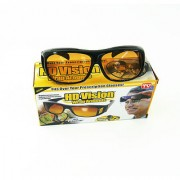 NV Night Vision HD Glasses HD Wrap Arounds In Best Price Yellow Color For Driving 2Pcs.