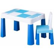 Masa cu 1 scaun 2 Fete O Fata Compatibila Set de Lego
