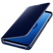 Husa Samsung Clear View Standing EF-ZG965CLEGWW pentru Samsung Galaxy S9 Plus (Albastru)