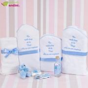 Trusou Botez Azi M-am Creștinat - Light Blue