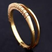 Aliança de Ouro Amarelo com 15 Diamantes de Meio Ponto