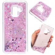 Samsung Galaxy A8 (2018) Liquid Glitter Case - Pink