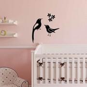 Sticker decorativ de perete Sticky, 260CKY5010, Negru