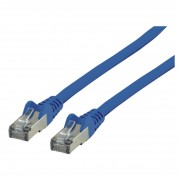Valueline FTP CAT6 blauw plat 3m