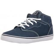 Globe Men's Motley Mid Skateboarding Shoe, Blue/White, 7 M US