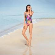 SunSelect®-Badeanzug Pink Animal, 36 - Multicolor