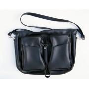 Skládací taška pánská 146 - černá
