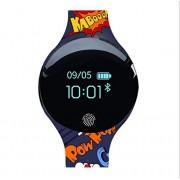 KQHSM Recargable Inteligente Reloj de Estudiantes Masculinos y Femeninos Deportes Disco Running Pulsera Impermeable podómetro Multifuncional Bluetooth (Color : C)